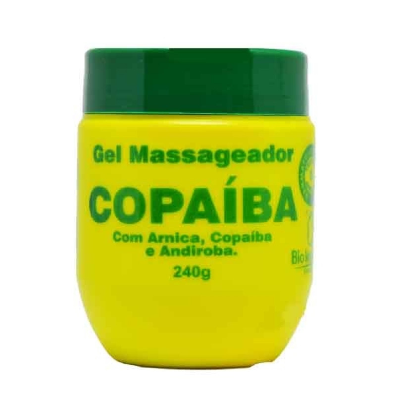 GEL MASSAGEADOR COPAÍBA BIO 240g