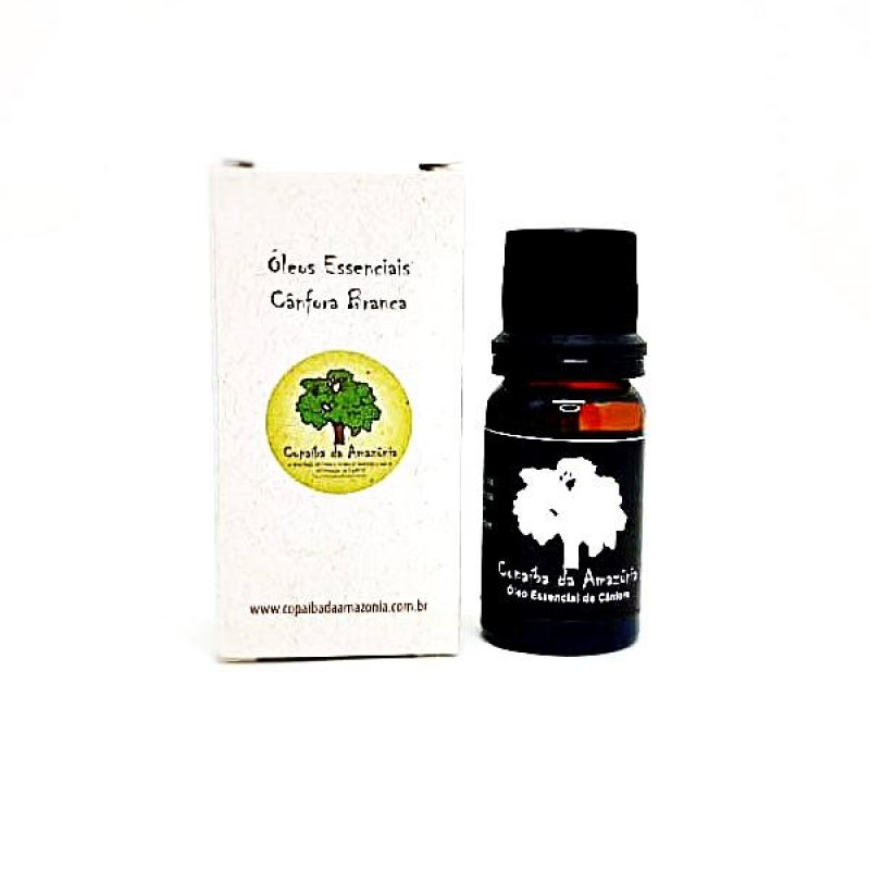 Óleo Essencial de Cânfora 10 ml
